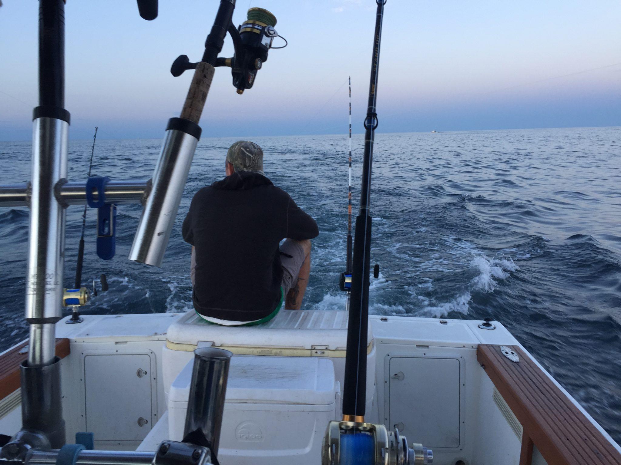 Trolling The Big Eye Tuna Spread Canyon Fishing