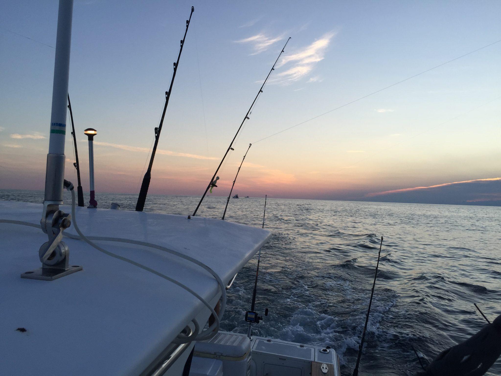 Dolphin & Wahoo Fishing Ocean City/ Atlantic City Sunrise